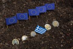 Grecja i EC Zdjęcia Stock