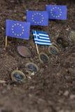 Grecja i EC Zdjęcie Royalty Free