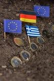 Grecja i EC Zdjęcia Royalty Free