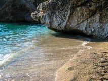 Grecja i ona plaże Zdjęcia Royalty Free