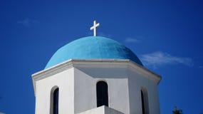Grecja kościół Fotografia Stock