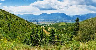 Grecja, Maj dolina fotografia royalty free