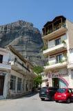 Grecja, Meteor, wąska ulica w wiosce Kalambaka Obraz Royalty Free