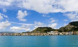 Grecja Miasto Zakintos na wyspie Zakynthos Zdjęcia Royalty Free