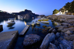 Grecja, Rhodes wyspa Obrazy Royalty Free