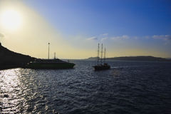 Grecja Santorini Zdjęcie Royalty Free