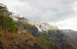 Grecja Santorini Zdjęcia Royalty Free