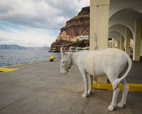 Grecja Santorini Zdjęcia Stock