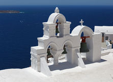 Grecja, Santorini Widok Obrazy Royalty Free