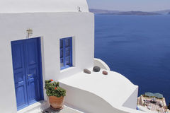 Grecja Santorini wyspa Fotografia Royalty Free