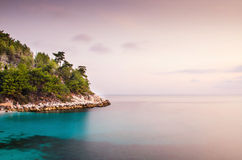 Grecja seascape Zdjęcia Stock