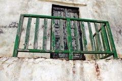 Grecja, Sifnos wyspa, szczegół od starego budynku obrazy royalty free