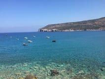 Grecja wybrzeże Obraz Royalty Free