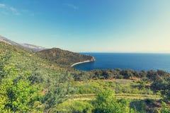 Grecja wybrzeże Fotografia Stock