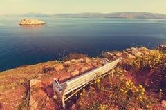 Grecja wybrzeże Zdjęcia Royalty Free