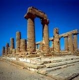 grecka świątyni Zdjęcia Stock