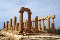 grecka świątynia Fotografia Royalty Free