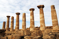 grecka świątynia Zdjęcie Stock