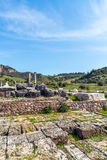 Grecka świątynia Artemis blisko Ephesus i Sardis Fotografia Royalty Free