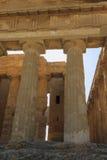 Grecka świątynia Concordia w Agrigento, Sicily -, Włochy Obraz Royalty Free