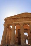 Grecka świątynia Concordia w Agrigento, Sicily -, Włochy Fotografia Royalty Free