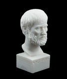 Grecka filozofa Aristotle rzeźba Zdjęcia Royalty Free