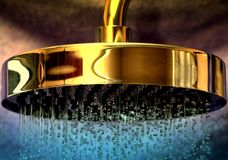Grecka prysznic zdjęcie stock