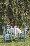 grecka restauracja Zdjęcie Stock