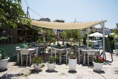 grecka restauracja Zdjęcia Royalty Free