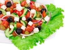 grecka sałatka Fotografia Stock