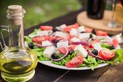 grecka sałatka Zdjęcia Stock