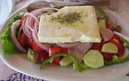 grecka sałatka Zdjęcia Royalty Free