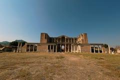 Grecka sala gimnastyczna Sardis w Turcja zdjęcia royalty free