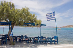 grecka tawerna Fotografia Stock