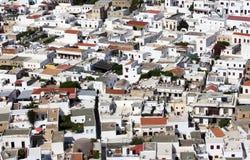 grecka wioska Obrazy Stock