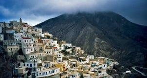 grecka wioski zdjęcia stock