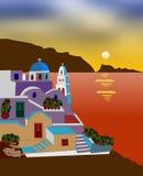 grecka wyspa Fotografia Royalty Free