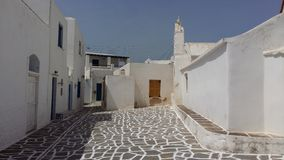 Grecka wyspa Paros, Marpissa wioska Obrazy Stock