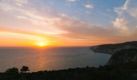 Grecka wyspa Zakynthos w Ionian morzu Fotografia Royalty Free