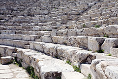 Grecki amphitheatre fotografia royalty free