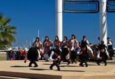 Grecki folkloru taniec Obrazy Royalty Free