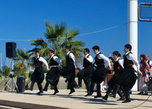 Grecki folkloru taniec Zdjęcie Royalty Free