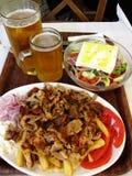 Grecki gość restauracji zdjęcia stock