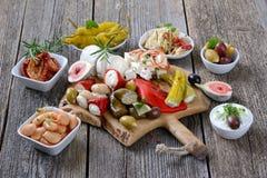 Grecki jedzenie zdjęcie stock