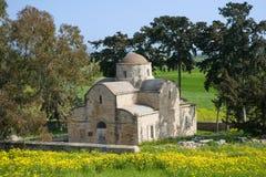 Grecki kościół Obrazy Royalty Free