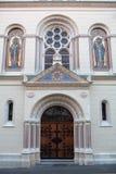 Grecki kościół katolicki w Zagreb, Chorwacja Zdjęcie Stock