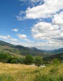 grecki krajobrazu Zdjęcie Royalty Free
