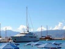 Grecki miasto Agios Nikolaos Zdjęcie Stock