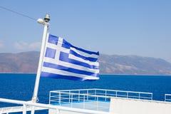 Grecki morski transport Zdjęcia Stock