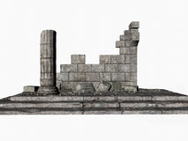 grecki ruin royalty ilustracja